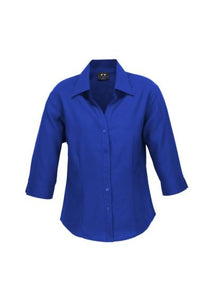 Ladies Plain Oasis 3/4 Sleeve Shirt LB3600