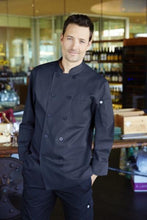 Torino Navy Blue Chef Coat
