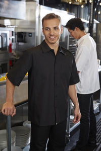 Service Cool Vent™ Cook Shirt: Black