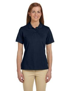 Harriton Ladies' 6 oz. Ringspun Cotton Piqué Short-Sleeve Polo