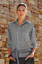 Womens Red Gingham Dress Shirt