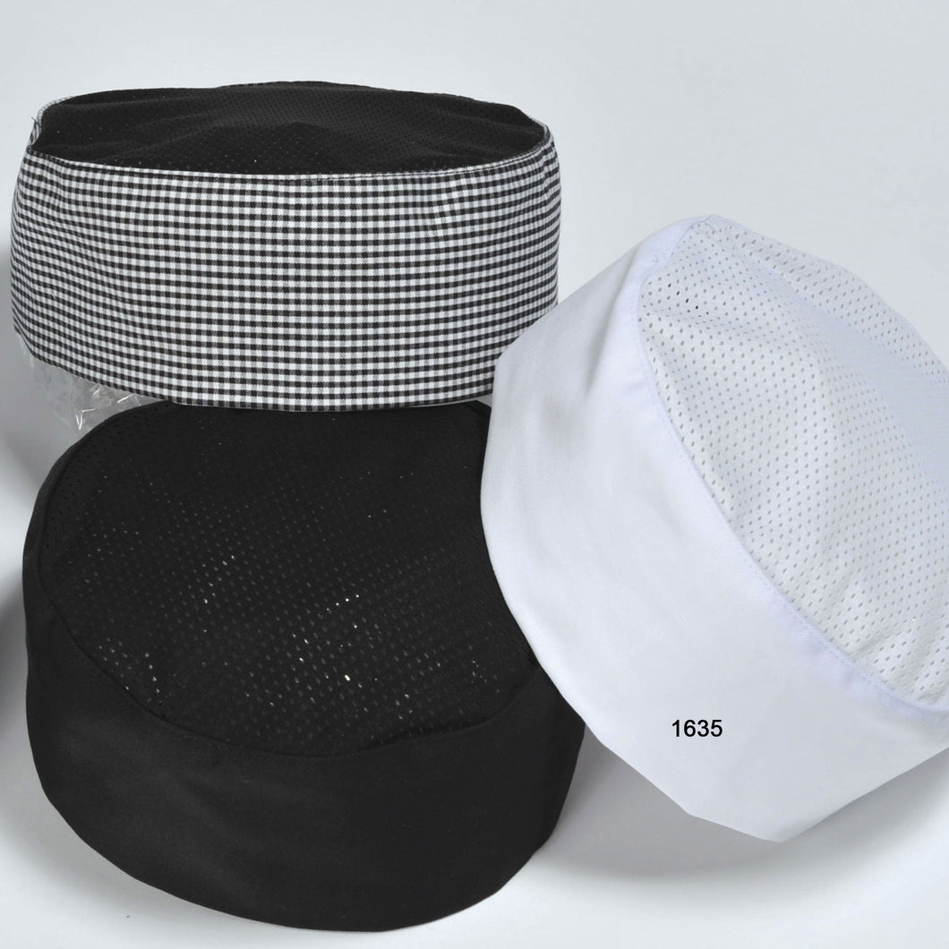 Pill Box Cap With Mesh Top. 1635