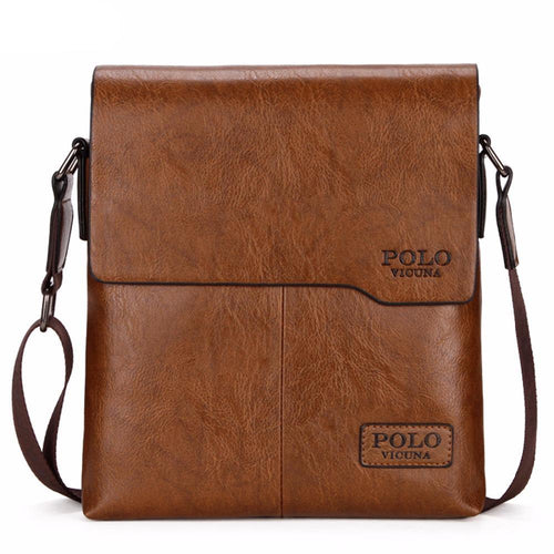 Vintage Style Classic Leather Crossbody Bag
