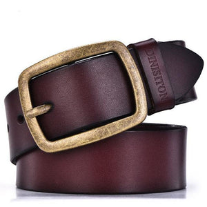 Luxury Vintage Pin Buckle Strap Belt