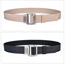 Military Waist Nylon Canvas Belt
