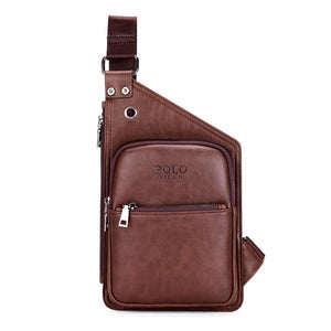 Crossbody Retro Leather Shoulder Bag