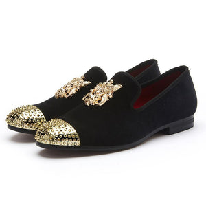 Suede Unity Metal Frontal Shoes