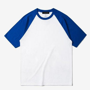 Skateboard Raglan Summer Casual T - Shirt
