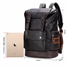 Daypacks Travel Mochilla Leather Backpack