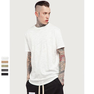 Summer Bamboo Plain Casual T - Shirt