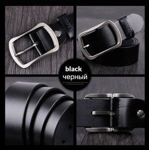 Vintage Pin Buckle Leather Belt