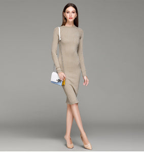 Knitted Formal Sexy Mini Dress