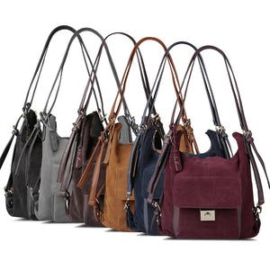 Casual Suede Leather Shoulder Bag