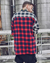 Striped Plaid Long Sleeve Casual Shirt