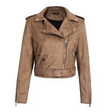 All Season Leather Suede Faux Jacket