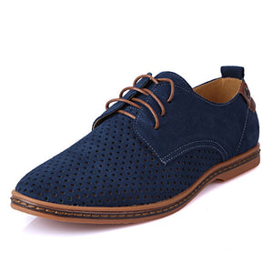 Summer Breathable Suede Oxfords Shoes