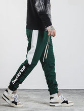 Print Side Stripe Vintage Sweatpants