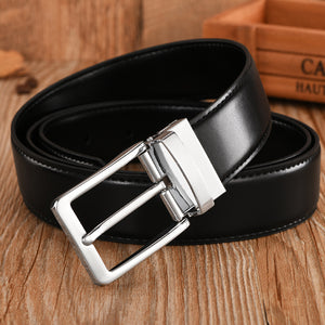 Military Luxury Leather Strap Belts