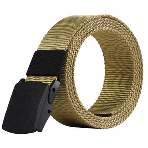 Military Nylon Canvas Strap Belt