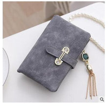 Retro Matte Stitching Leather Wallet