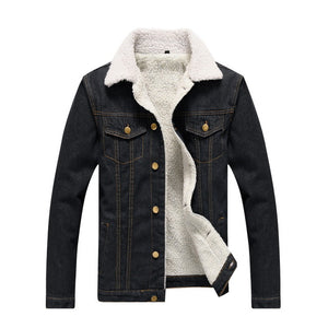 Denim Fury Turn - Down Jacket