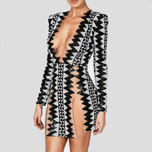 Side Split Sequin Party Dress