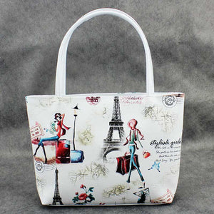 Hello Paris Casual Leather Bag