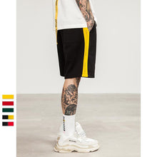Sharp Side Stripe Summer Shorts