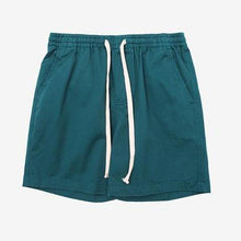 Pure Solid Knee Cotton Shorts