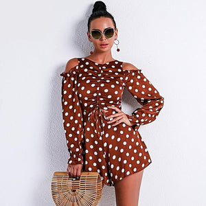 Elegant Sexy Off Shoulder Romper