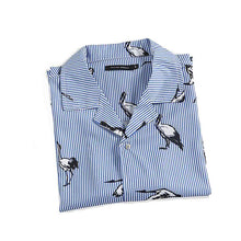 Feathered Summer Short Sleeve Shirt