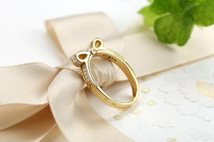 'Princess' Bow Ring