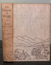 THE GRAPES OF WRATH - John Steinbeck - 1st Ed / 6th Printing, 1939 Viking Press