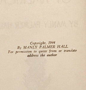 SECRET DESTINY OF AMERICA - Manly Hall, 1st Ed 1944 - SECRET MYSTIC FOUNDATION