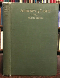 ARROWS OF LIGHT - 1st, 1930 - HERMETIC ASTROLOGY MASONRY MAGICK ALCHEMY TAROT