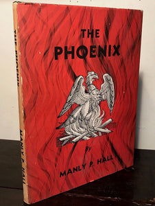 THE PHOENIX by MANLY P. HALL ~ 1st Edition / 7th Printing 1975 HC/DJ