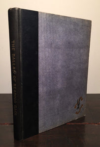 THE BALLAD OF READING GAOL Oscar Wilde, Illust. John Vassos 1st/1st 1928 HC