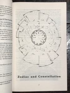 LOUISE HUBER - REFLECTIONS & MEDITATIONS ON THE SIGNS OF THE ZODIAC 1st/1st 1984