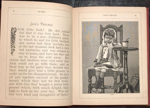 BO-PEEP: A Treasury for the Little Ones, Cassell & Co., 1st/1st 1883 ILLUSTRATED