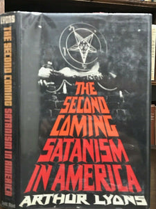 THE SECOND COMING: SATANISM IN AMERICA - Lyons, 1st 1970 SATAN BLACK MASS DEVIL