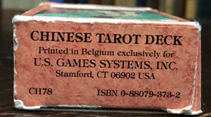 CHINESE TAROT DECK - 1st Ed, 1989 - Complete 78 Cards, NEW OLD STOCK Never Used