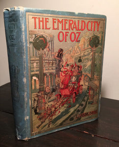 THE EMERALD CITY OF OZ Frank Baum, First Edition First Printing 1910 HC, SCARCE