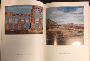GREEK TEMPLES, THEATRES AND SHRINES, H. Berve 1st Ed HC/DJ 1962 TIPPED-IN PLATES