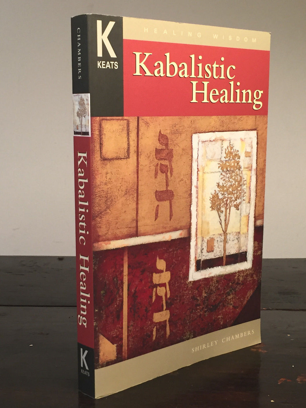 KABALISTIC HEALING by Shirley Chambers, 1st/1st 2000, SIGNED SC Like New Kabalah