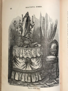 1878 - BEAUTIFUL HOMES: HINTS IN HOUSE FURNISHING - 1st/1st VICTORIAN DESIGN