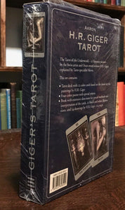 H.R. GIGER TAROT Box Set, 2000 w/ Cards, Book, Poster - NEW OLD STOCK NEVER USED