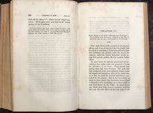 1847 ~ HISTORY OF THE CONQUEST OF PERU by W. Prescott, 1st/1st, 2 Volumes INCAS