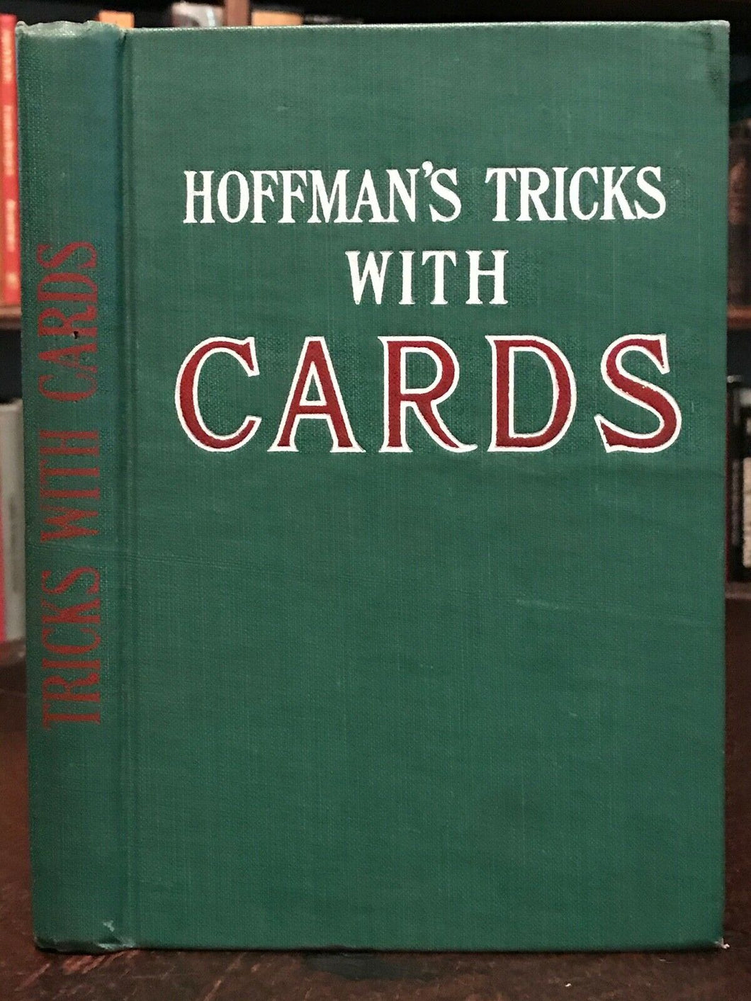 CONJURING TRICKS WITH CARDS (FROM
