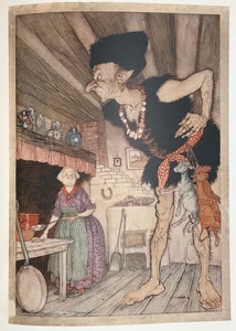 ARTHUR RACKHAM ~ ENGLISH FAIRY TALES, Retold by Flora Annie Steel, 1st/1st 1918