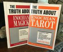 TRUTH ABOUT ENOCHIAN MAGICK + TRUTH ABOUT ENOCHIAN TAROT - 1st, 1989 - Lot of 2
